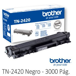 Toner Brother TN-2420 Original alta capacidad TN-2410