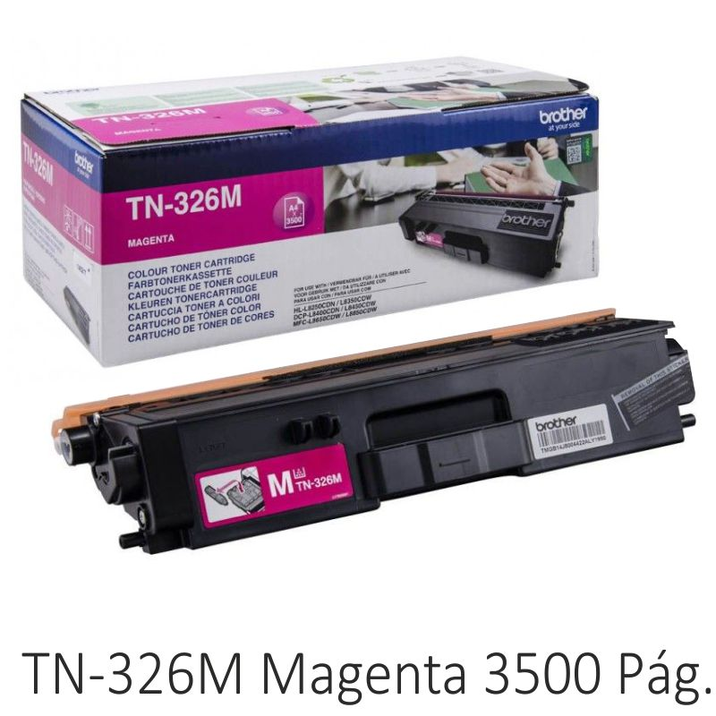 Toner Brother TN326M Magenta