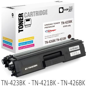 Toner Brother TN423BK TN421BK TN426BK compatible 6500 págs.