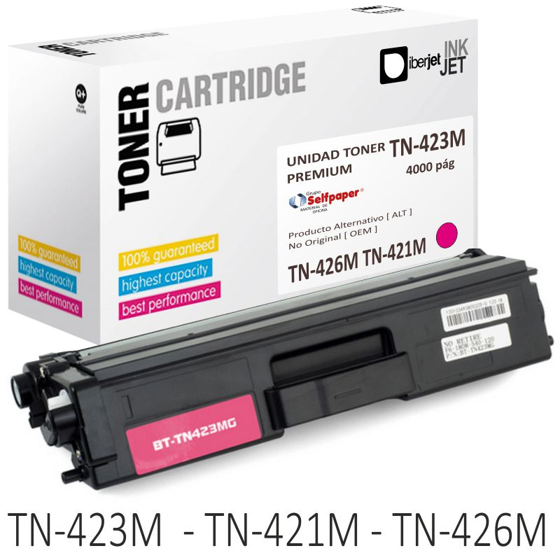 Toner Brother TN423M TN421M TN426M compatible color Magenta