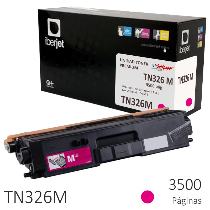 Toner Compatible Brother TN326M Magenta