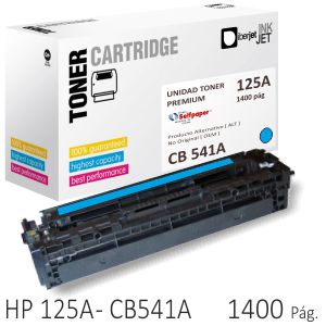 Toner Compatible HP CB541A