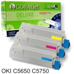 Toner compatible Oki C5650 C5750 2000 Paginas - cada color