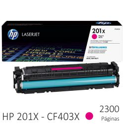 Toner HP 201X color