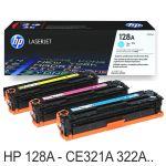 Toner HP CE321A CE322A