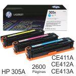 Toner HP CE411A, CE412A