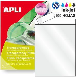 Transparencias para impresoras Inkjet