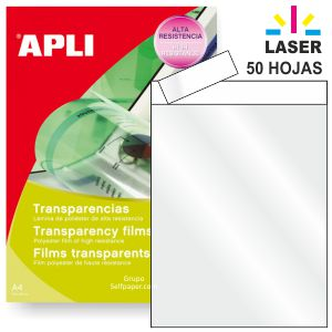 Transparencias impresoras laser Color
