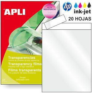 Transparencias Inkjet borde papel