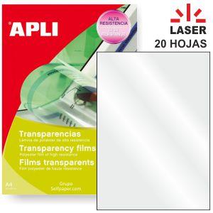 Transparencias para impresoras Laser